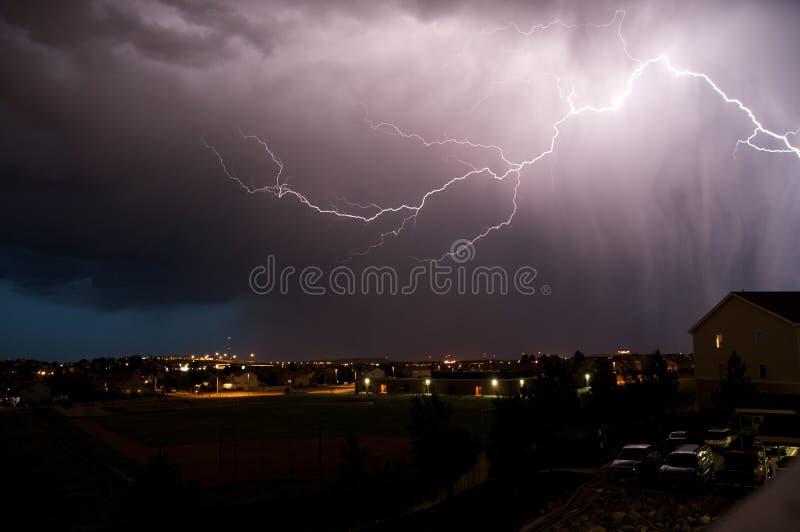 Summer Storm royalty free stock photos