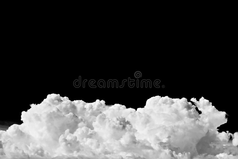 A summer storm cloud royalty free stock photos
