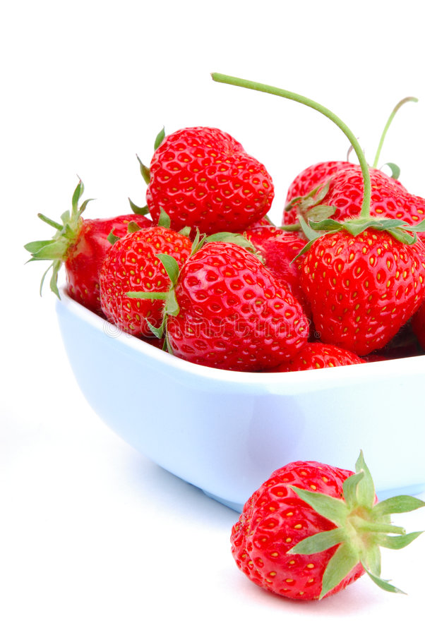 Summer Strawberry stock photos