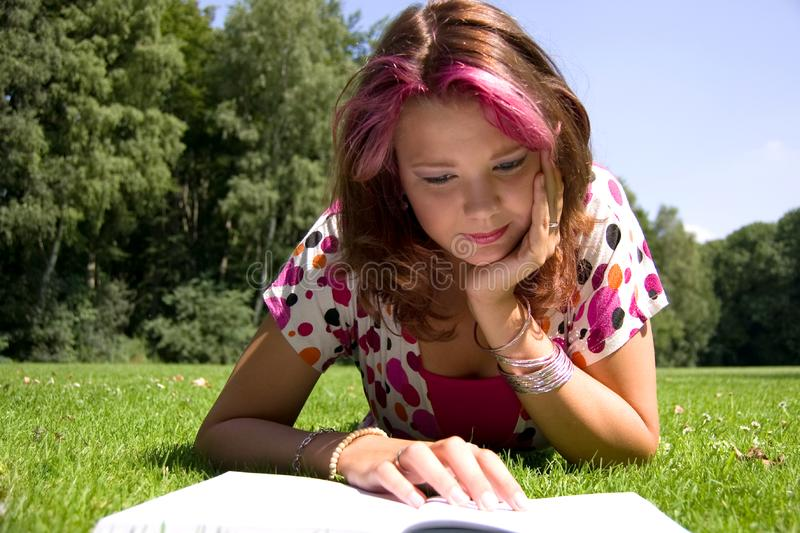 Summer study royalty free stock photography
