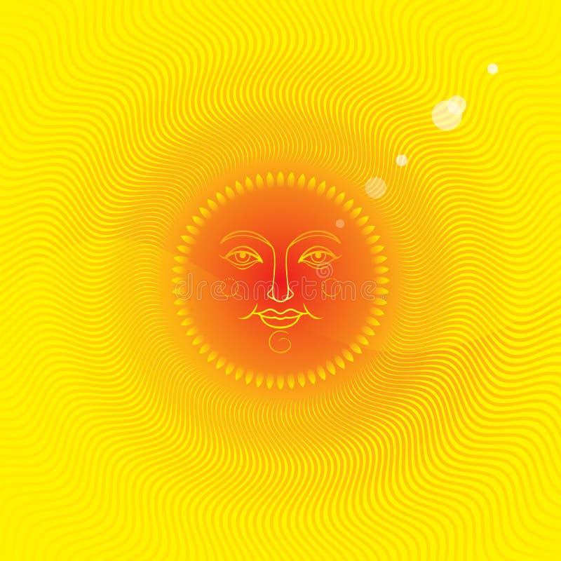Summer Sun royalty free stock photography