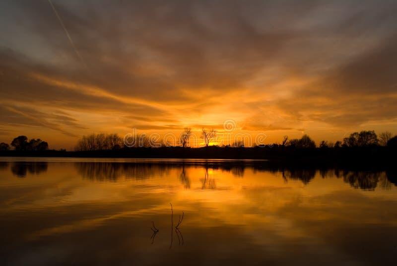 Download Summer sunset stock image. Image of landscapes, skies - 3875931