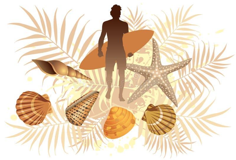 Download Summer Surf stock vector. Illustration of surfboard, beach - 13926331