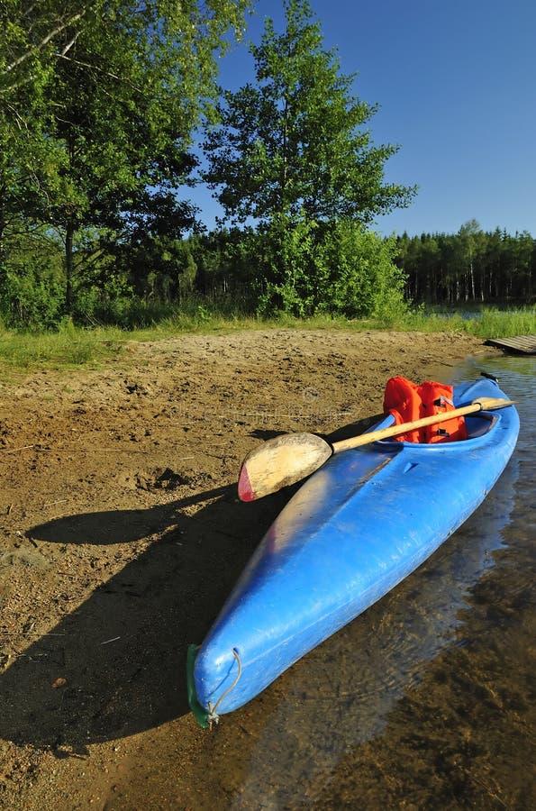 Summer Swedish sport equipment royalty free stock photography