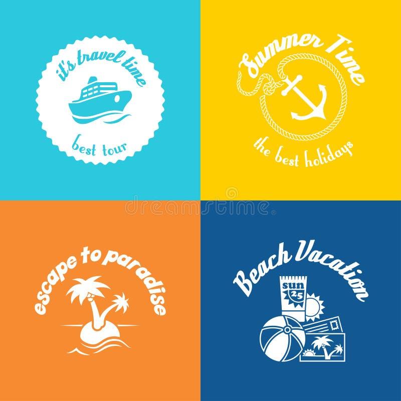 Download Summer symbols stock vector. Illustration of design, resort - 41689543