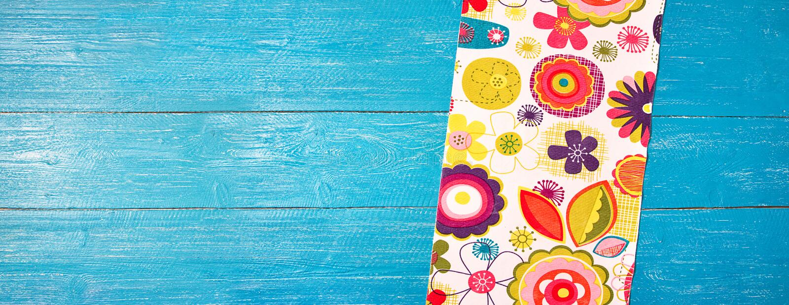 Summer table background stock images
