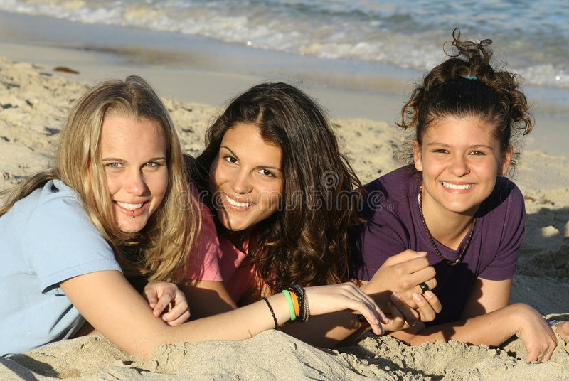 Download Summer teens stock photo. Image of women, vacation, friends - 614948