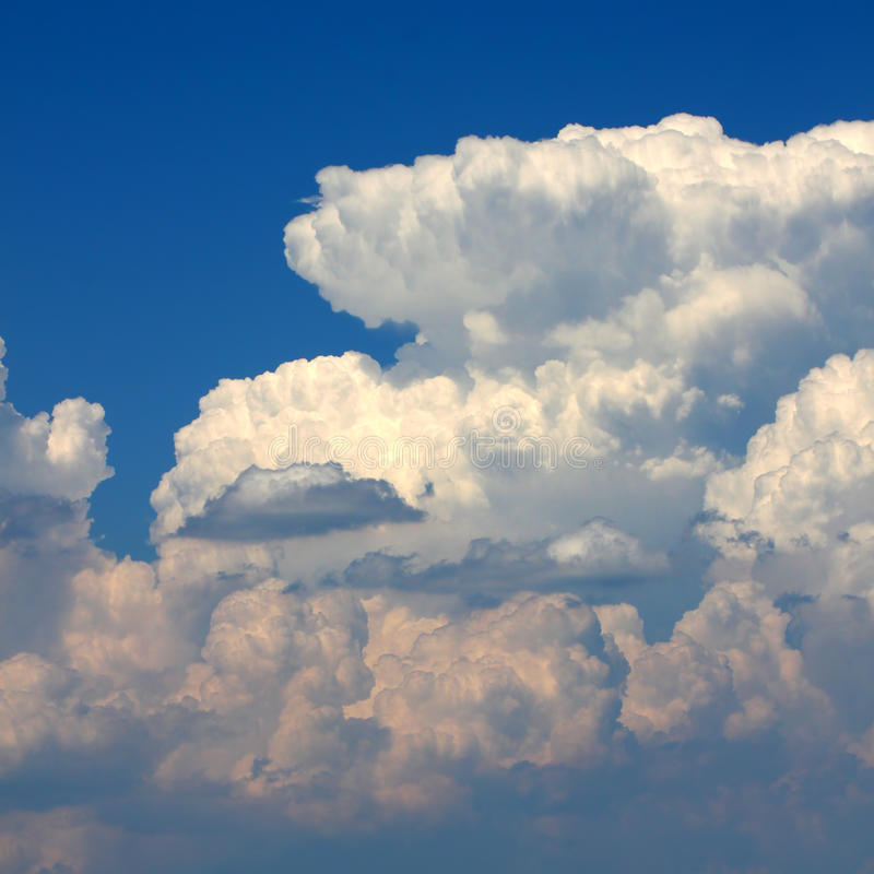 Summer Thunderstorm Clouds Royalty Free Stock Photography