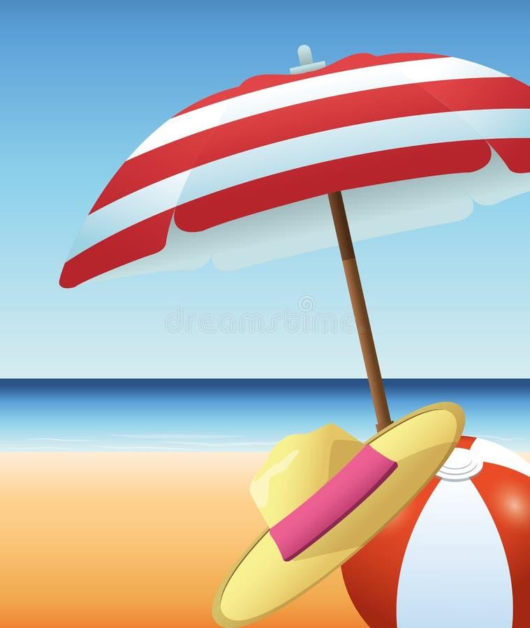 Beach Ball Umbrella Stock Illustrations – 6,894 Beach Ball ...