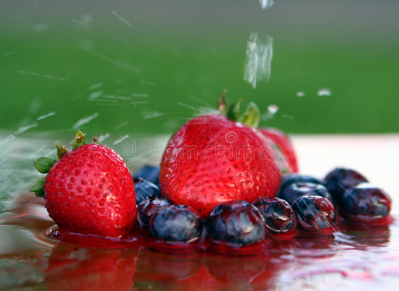 Summer time food royalty free stock images