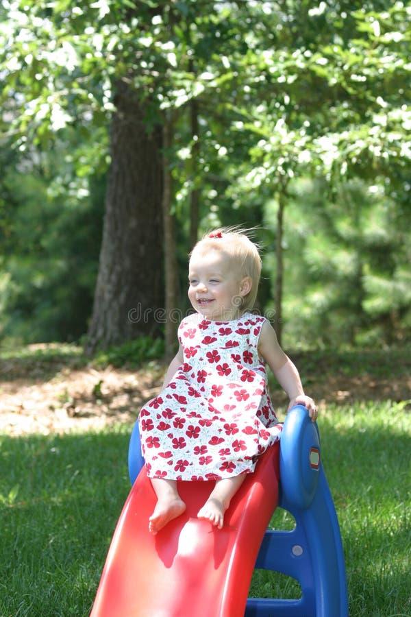 Download Summer time fun stock photo. Image of children, slide - 1423362
