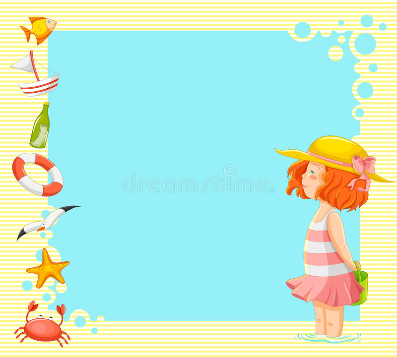 Download Summer time stock vector. Image of serenity, animals - 31535708