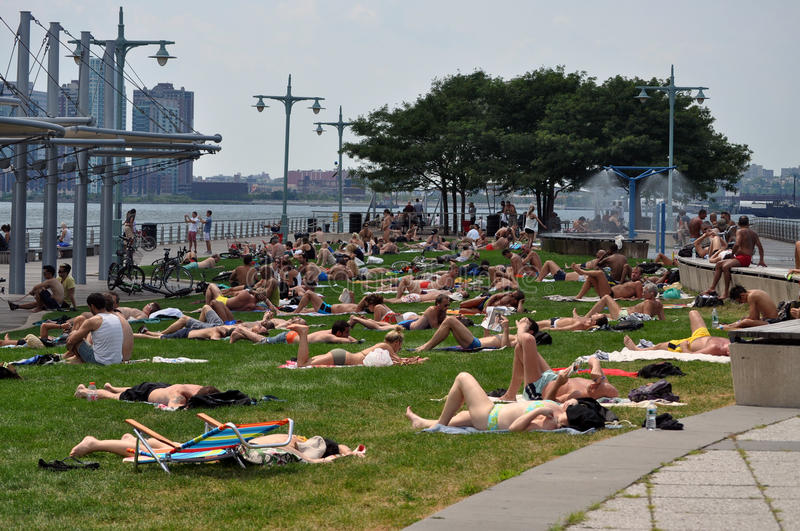 Download Summer Time In New York City Editorial Stock Photo - Image: 15202868