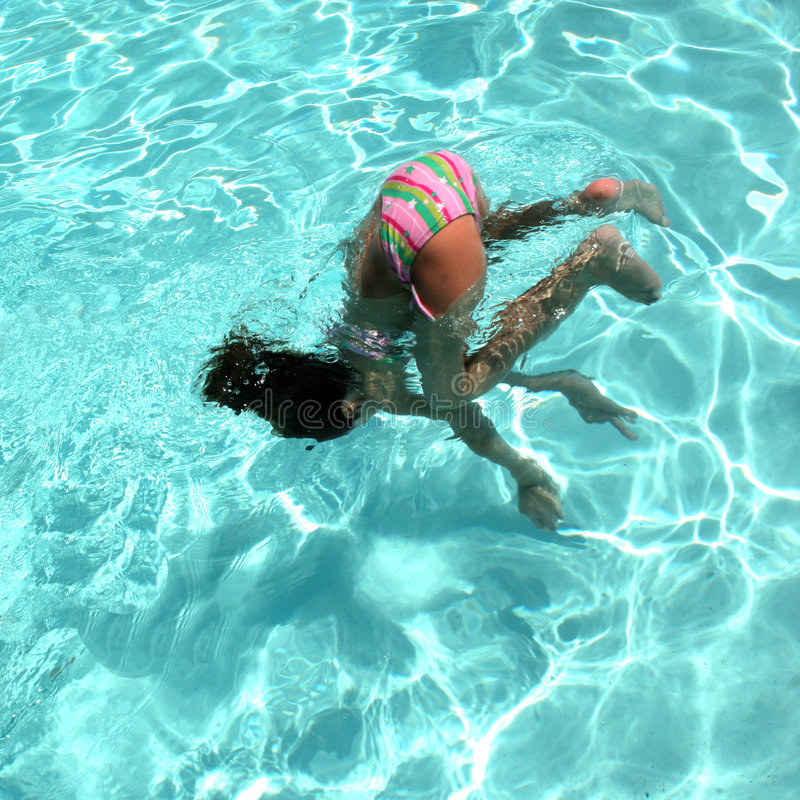 Free Summer-Time Somersault Royalty Free Stock Photo - 993995
