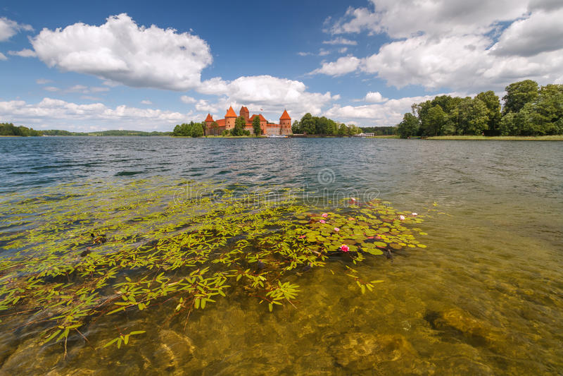 Summer Trakai royalty free stock images