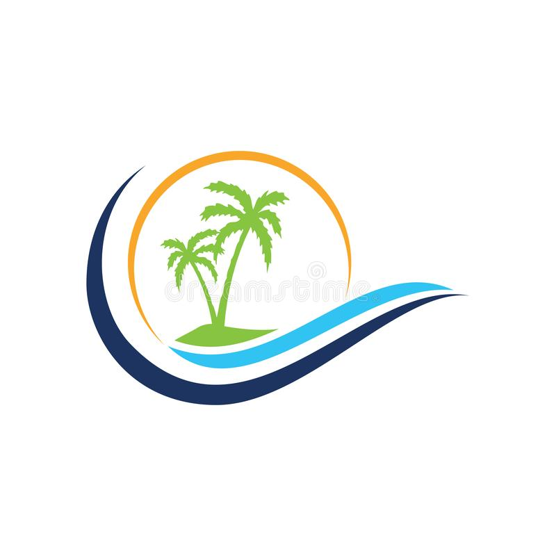 Summer travel logo icon vector template, Vector logo design templates for airlines, airplane tickets, travel agencies. Planes and emblems, Travel agency vector illustration