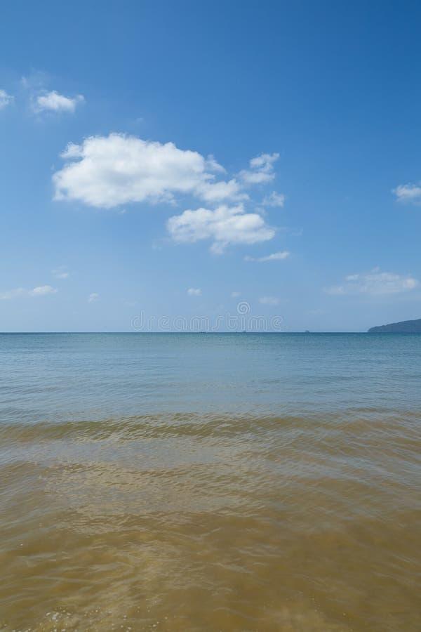 Summer travel in the Thai sea. Krabi, Thailand Holiday in Thailand - Beautiful Island of Krabi with Sandy Beaches stock photos