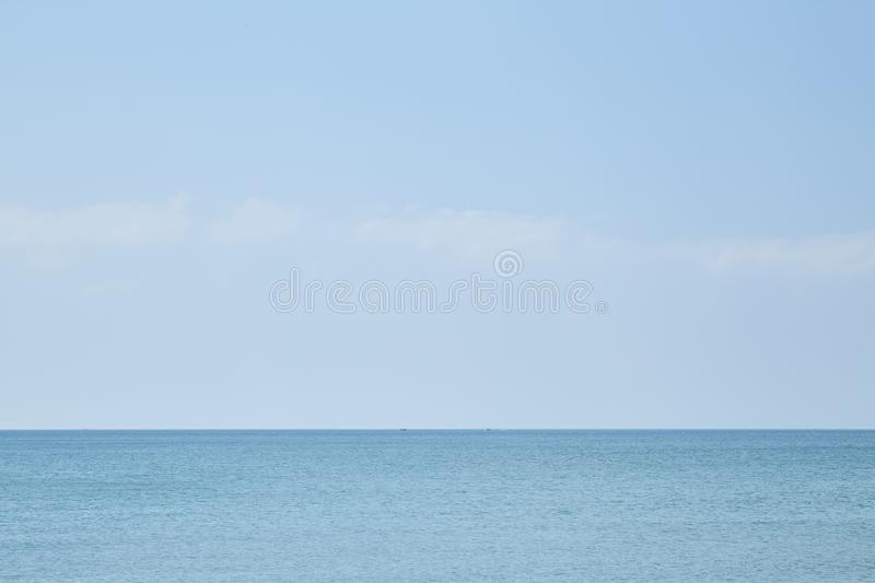 Summer travel in the Thai sea stock image
