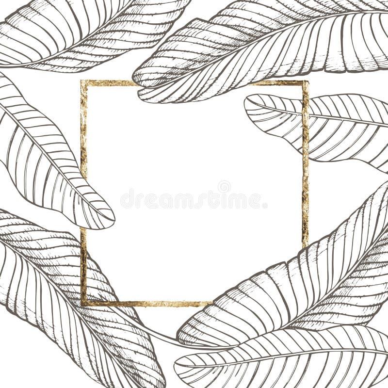 Summer tropical leaves vector design floral background illustration download summer tropical leaves vector design floral background illustration invitation or card design with stopboris Images