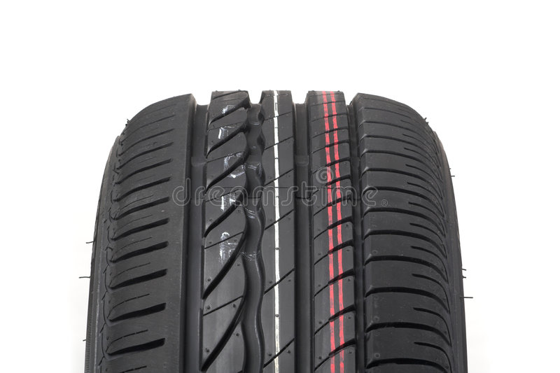Summer tyre royalty free stock photo