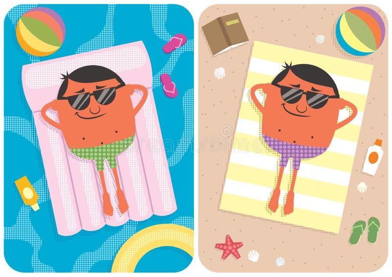 Summer Vacation vector illustration