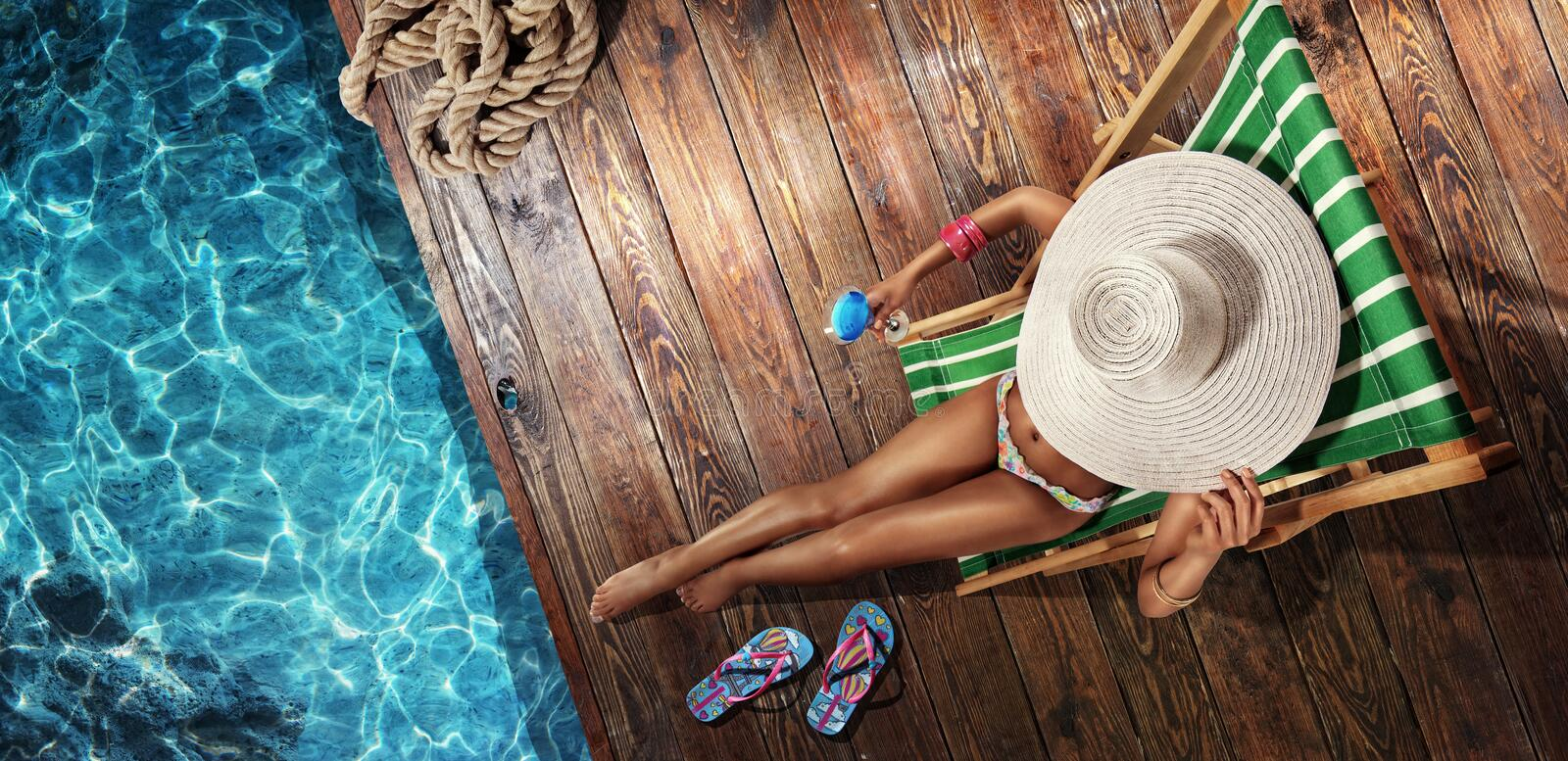 Summer. Vacation. stock images