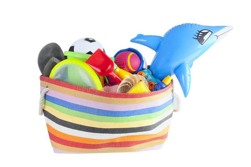 Download Summer Vacation Or Holiday Beach Bag Stock Image - Image: 19978563