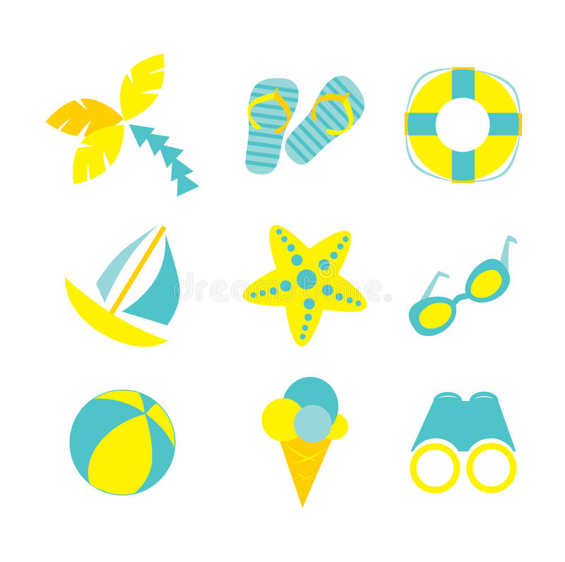 Download Summer vacation stock vector. Illustration of silhouettes - 31732958