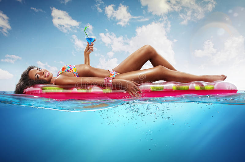 Summer. Vacation. stock photography