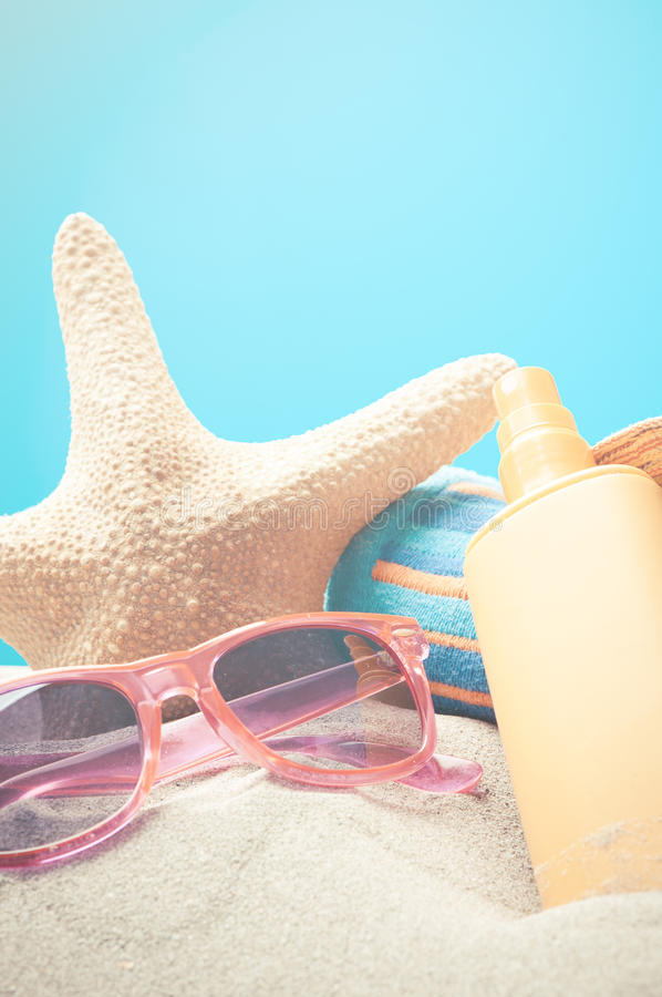 Free Summer Vaction Beach Background Royalty Free Stock Photography - 67316217