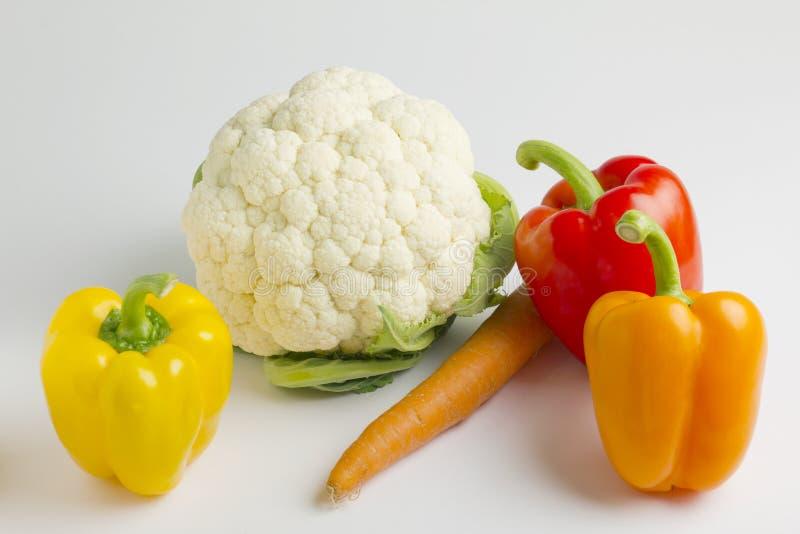 Download Summer vegetables stock image. Image of cauliflower, green - 25477583