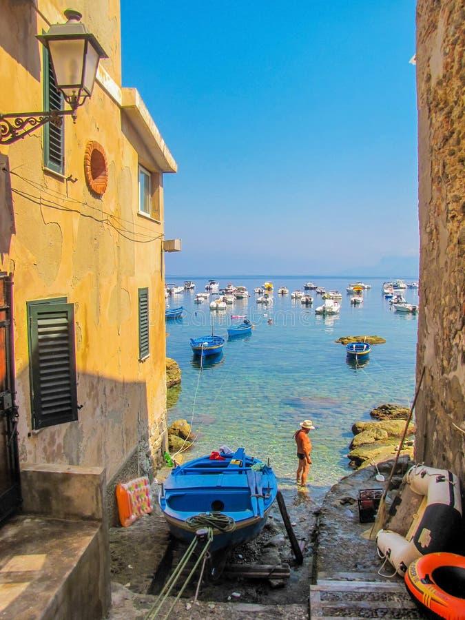 Scilla, Calabria, Italy stock photos