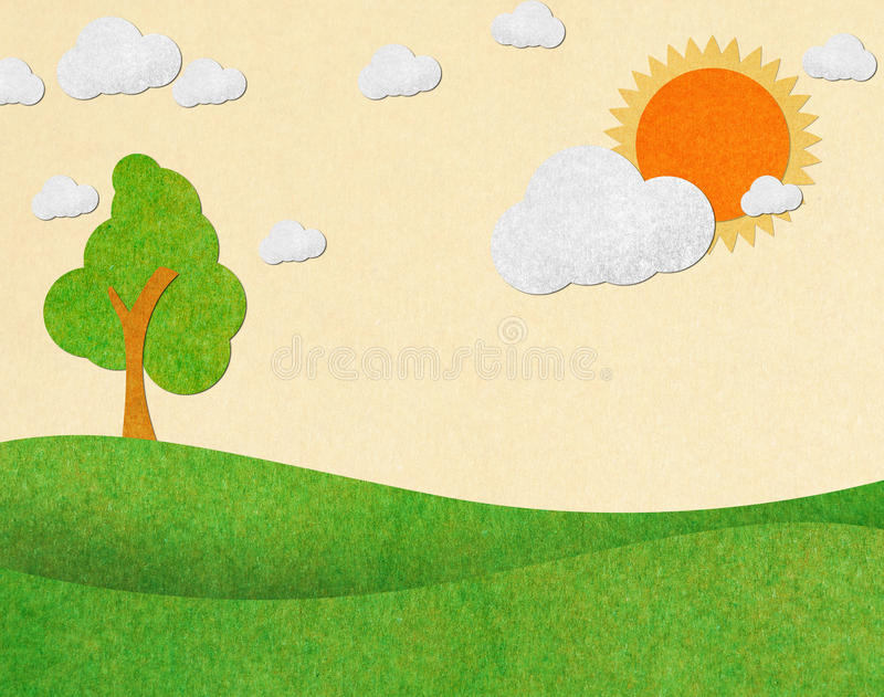 Download Summer view recycled paper stock photo. Image of card - 23830216