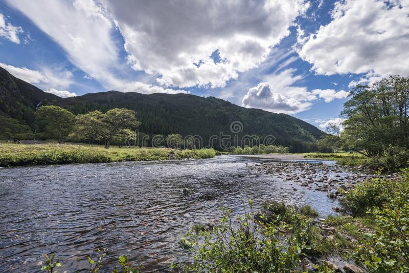 River Meig royalty free stock image