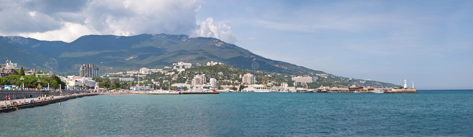 Download Summer View Seacoast. The Crimea, Ukraine Royalty Free Stock Photo - Image: 24983645