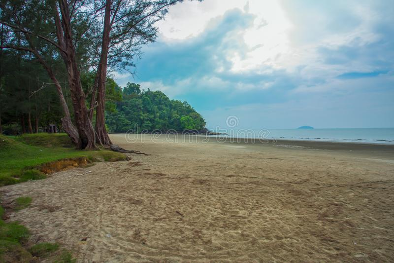 Beach, Water, Sand, Cloud - Sky, Horizon royalty free stock photos