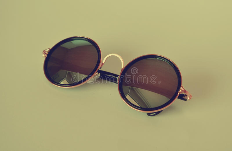 Summer vintage sunglasses stock photography