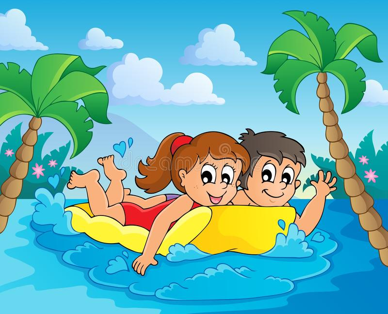 Summer Water Activity Theme 4 Stock Photography