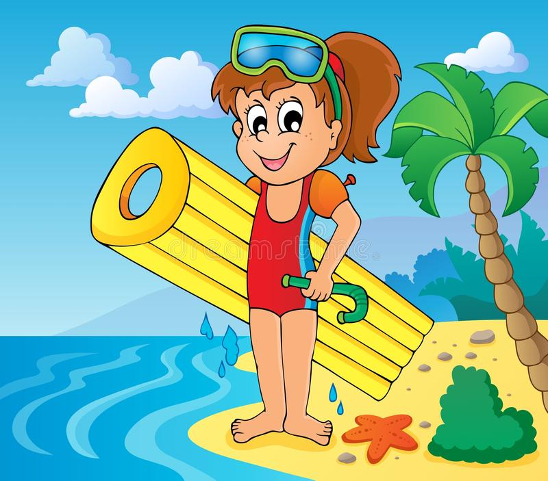 Download Summer Water Activity Theme 6 Stock Vector - Image: 30680631