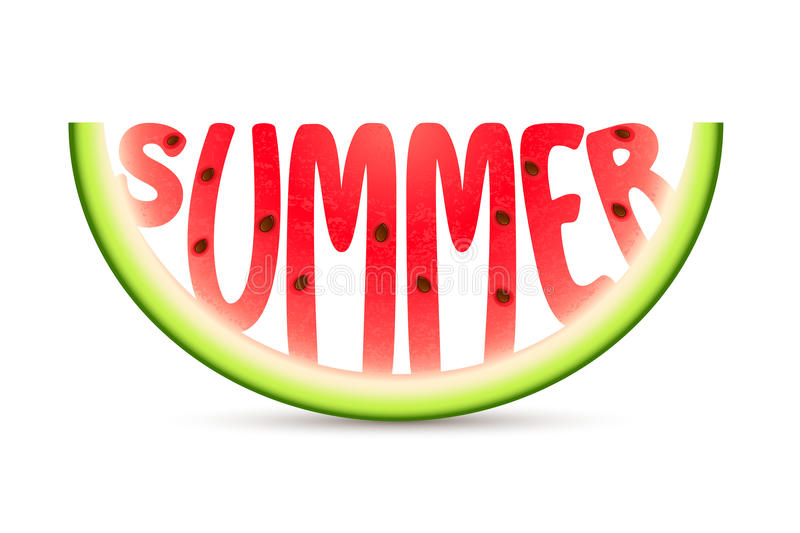 Summer Watermelon royalty free stock photos