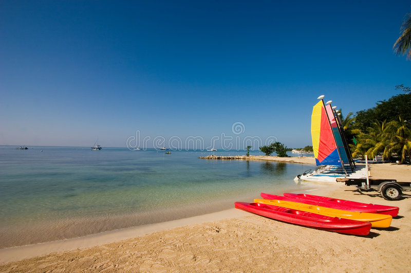 Summer watersports royalty free stock photography