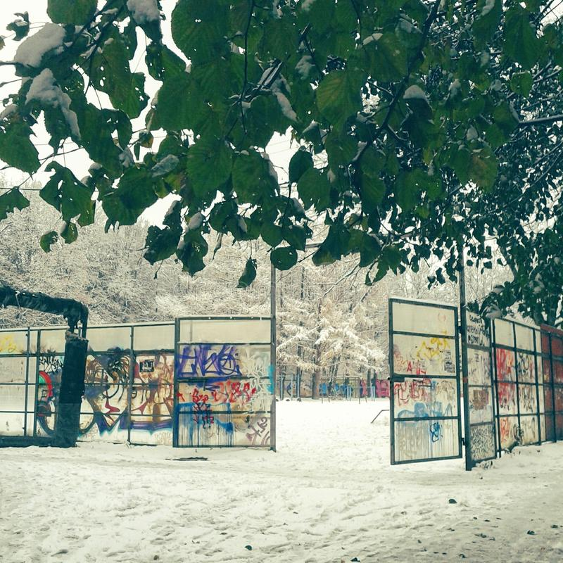 summer winter royalty free stock images
