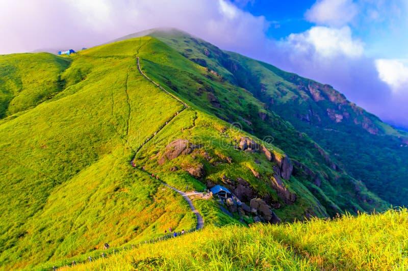Wugongshan mountain royalty free stock photography
