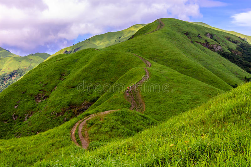 Wugongshan mountain stock image