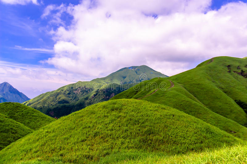 Wugongshan mountain stock photography
