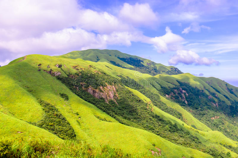 Wugongshan mountain royalty free stock images