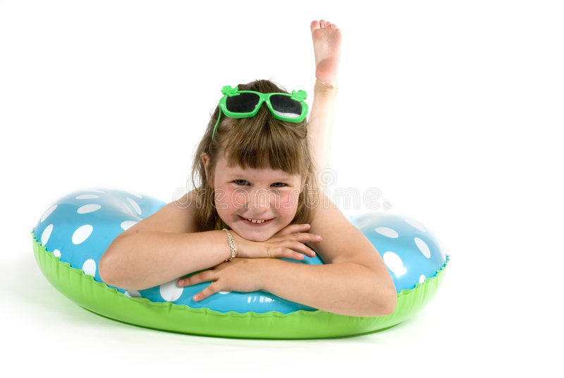 Summergirl royalty-vrije stock foto's