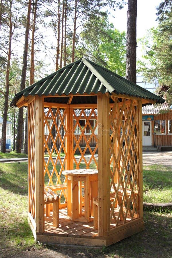 Summerhouse stock foto