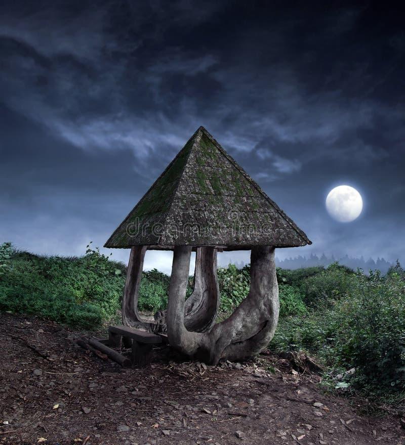 Summerhouse di fantasia fotografia stock libera da diritti