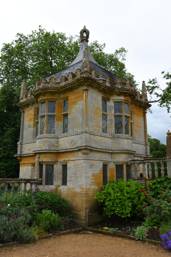 Summerhouse, Montacute-Huis, Somerset, Engeland royalty-vrije stock fotografie